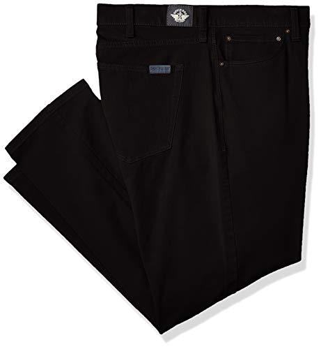 Dockers Men's Big and Tall Ultimate Jean Cut Pants, black, 48W x 30L