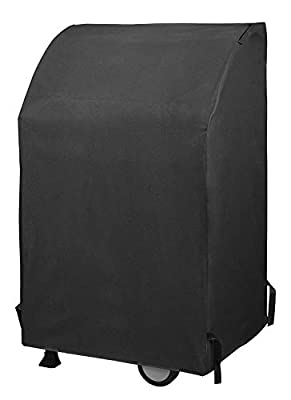 Unicook Two Burner Gas Grill Cover 32 Inch, Outdoor Waterproof Barbecue Cover, Heavy Duty Small BBQ Grill Cover, Fade Resistant, Fit Grills with Both Side Tables Down for Weber Char-Broil and More