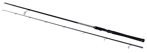 Shakespeare Agility Medium/Heavy Power Spinning Rod (2 Piece) - Black, 8 ft