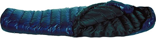 Western Mountaineering MegaLite Sleeping Bag: 30 Degree Down Navy Blue, 6ft 6in/Left Zip