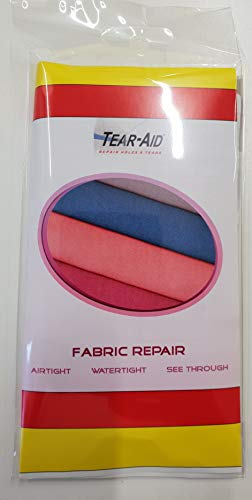 Tear Aid Type'A' 24' (60cm) x 3' (15cm)' Strip - Ideal for Any Fabric Repairs