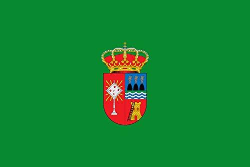 magFlags Bandera Large Carboneras de Guadazaón, Cuenca, España | Bandera Paisaje | 1.35m² | 90x150cm