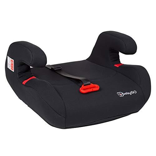 babyGo Bursa II black Sitzerhöhung mit Isofix Kindersitz 15-36 kg | 3563
