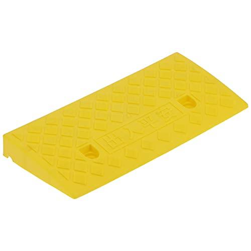 Rampa para bordillos, rampa Inclinada de 5 cm de Grosor para garajes domésticos para muelles de Carga para bordillos para entradas a hogares(Amarillo)