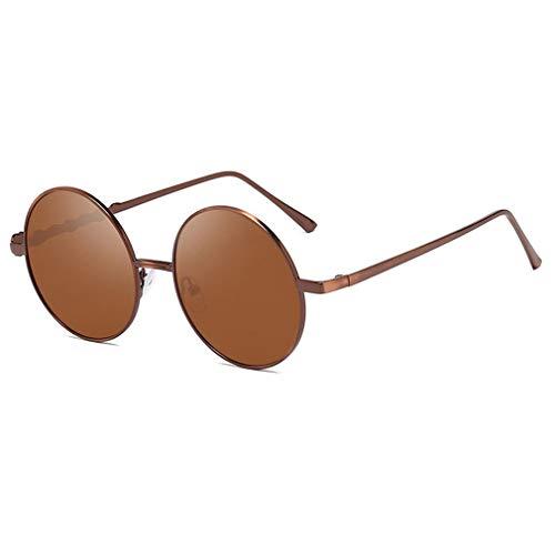 Gafas de sol redondas estilo gótico y vintage de JiXuan