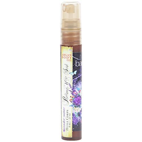 Barefoot Venus Travel Size Mini Argan Body Oil Spray 8 Millilters (Lavender Smoke)