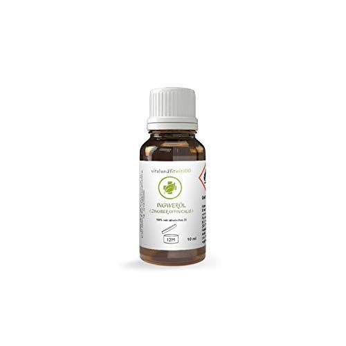 Ingweröl - 10 ml - zingiber officinalis - 100% naturreines ätherisches Öl