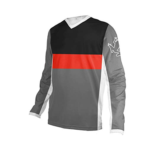 Uglyfrog 2020 Herren Mountainbike Downhill Freeride BMX Trikot Shirt Motocross Langarm Ärmel MTB/Downhill Cycling Jersey