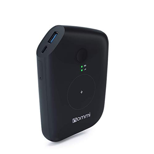 Nommi: Mobile Hotspot | Secured 4G LTE Unlocked Wi-Fi Hotspot Device | Pay as You Go Portable MiFi Hotspot | VPN | Wi-Fi Extender | eSIM/SIM in 150 Countries | 10000 mAh Power Bank