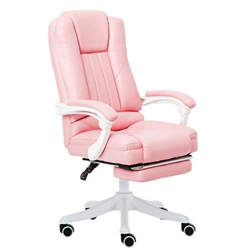 Chaise de Bureau Chaise d'ordinateur Fille Rose Chaise paresseuse Chaise de Bureau à Domicile Chaise de Sport électronique Chaise de dortoir étudiant Chaise d'ancre