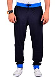 vego mens Navy cotton Track pant