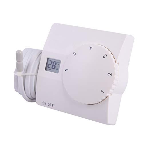 SAS816 Digital Thermostat Thermostatregler Raumthermostat für Fußbodenheizung