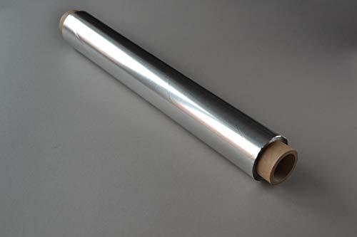 4 Rollen Alufolie (45 cm × 130m, 14my) extra breit Aluminiumfolie Folie Lebensmittel geeignet