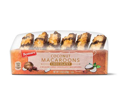 Belgian Coconut Macaroons Jumbo Soft Macaroons 2 5 Inches Imported From Belgium Each Box Contains 6 Macaroons Chocolate 2 Count Amazon Com Grocery Gourmet Food