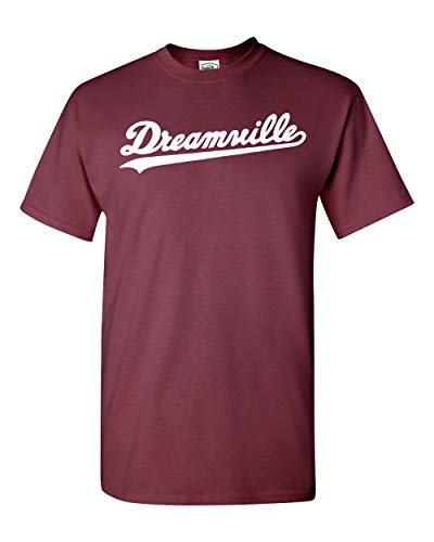 J. Cole Dreamville T-Shirt 4 Your Eyez Only Tour Rap Hip Hop Cole World Men S-3X (L, Maroon)