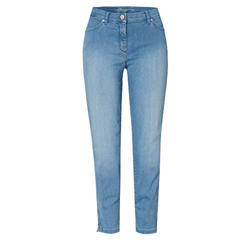 Toni Dress Damen 7/8 Hose Perfect Shape Zip Sky Blue Used blau - 38