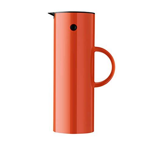 Stelton Isolierkanne, Kunststoff, Orange, H 31cm/Ø 10.5cm