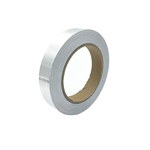 LGEGE 導電性アルミテープ 30mm幅x50m長 アルミテープ 導電性 アルミ箔粘着テープ 静電気除去 アルミテープチューン 耐熱 金属テープ 強粘着 静電気対策テープ 両面導電 アルミ箔