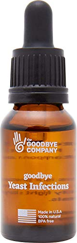 Goodbye Yeast Infections Essential Oil Serum   Effective Natural Yeast Infection Treatment   Organic, Fast Acting Relief of Candida Symptoms of Itching, Burning and Pain   Topical Herbal Remedy
