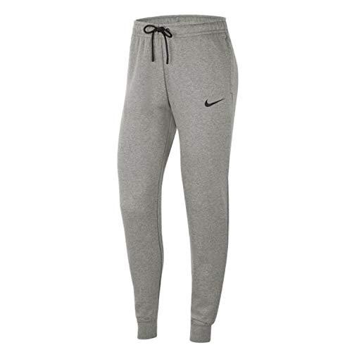 NIKE Park 20 Pantalones Deportivos, Dk Grey Heather/Negro/Negro, Large para Mujer