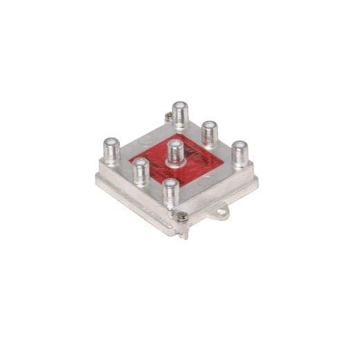 Buy Bargain Steren 201-276, 6-Way 1GHz 130dB RF Vertical Balanced Digital Splitter (Pack of 40 pcs)