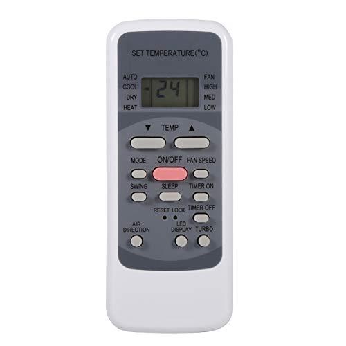 Wosune Control Remoto, Conveniente y fácil de operar Control Remoto Universal para Toshiba Electrolux Conia Westinghouse VESTEL QUUL Lasko NASCO para Uso Diario