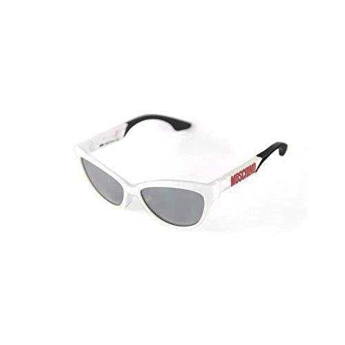 Moschino MO-817S-03 Gafas de sol, White, 57 para Mujer
