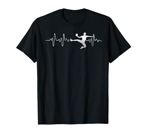 Herzschlag Handball T-Shirt