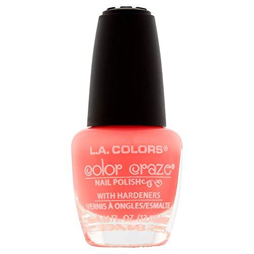 l a colors gel nail polishes L.A. Colors Craze Nail Polish, Frill, 1 Ounce