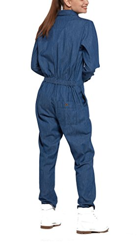 OnePiece Damen Momentum Jumpsuit, Blau (Denim Blue), 38 (Herstellergröße: M) - 2