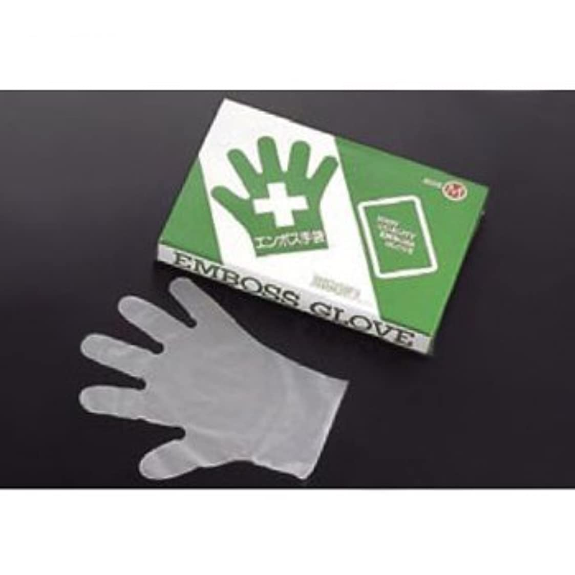 グローエクステントスラックエコノミー手袋#28 (外) L 五本絞り化粧箱 200枚入