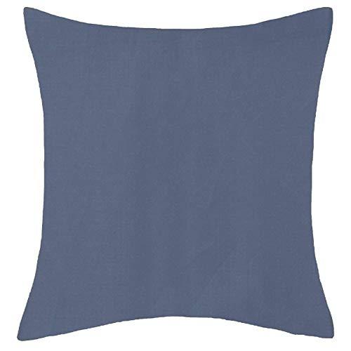 Office Sofa Cushion Cover Home Decor Pillow Case Navy Blue
