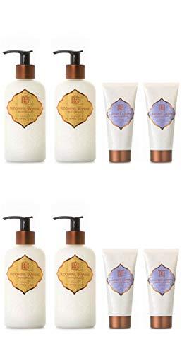 AKALIKO Blooming Jasmine Body Lotion and Lavender Cherish Hand Cream - Set C.