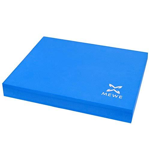 MEWE - Cuscino per bilanciamento XXL per un migliore equilibrio, coordinazione e stabilità (blu)
