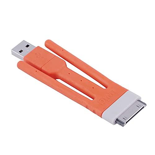 Twig Flexible Bendable USB Cable Stand Sync Cable de Carga para teléfono Celular Exquisitamente diseñado Durable Precioso