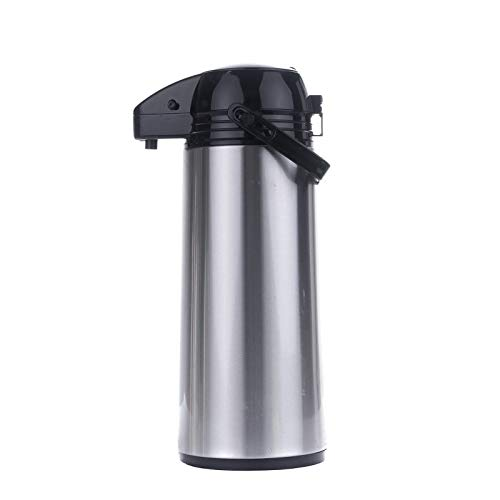 Airpot 1,9 L Pumpkanne Isolierkanne Thermo Kanne Kaffeekanne Camping Edelstahl Glaszylinder