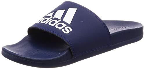 adidas Herren Adilette Comfort Dusch- & Badeschuhe, Blau (Azuosc/Ftwbla/Azuosc 000), 42 EU