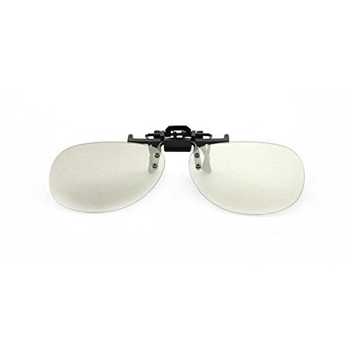 Wonderfulhony passive 3D-Brille Clip-on-Modell für Film-5pcs