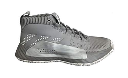 adidas Men's SM Dame 5 Team Basketball Shoes (14) Grey