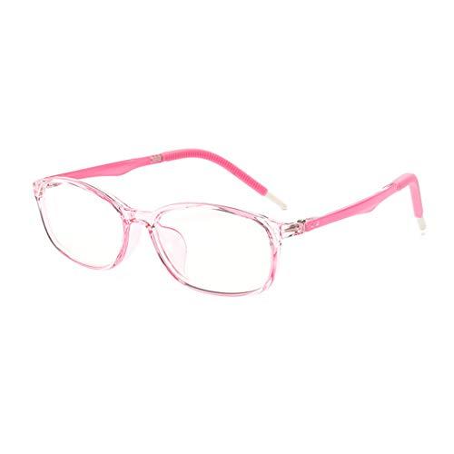 Kinder Gläser Rahmen Anti blaulicht brille und UV ungen Nicht Verschreibung Klar Linse Kinder Brillengestell Frauen und Mädchen