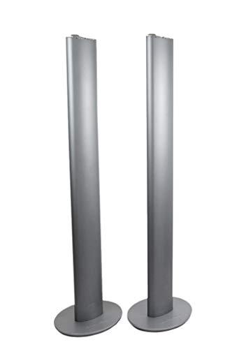 Harman Kardon HTFS 2 - Juego de 2 Patas de Columna de Aluminio, Color Plateado