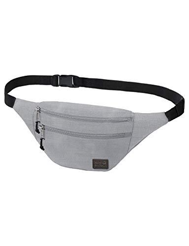 Jack Wolfskin Unisex– Erwachsene Hokus Pokus Blend Hüfttasche, Slate Grey Heather, One Size