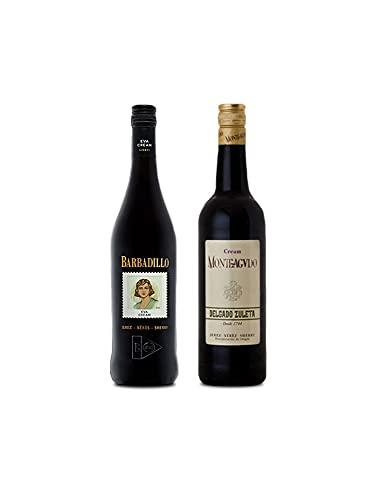 Vino Eva Cream de 75 cl y Vino Cream Monteagudo de 75 cl - Mezclanza Exclusiva
