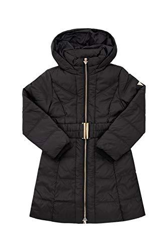 Guess Mädchen Daunen Mantel mit Kapuze J94L09 WANL0 schwarz (14 Jahre (164))