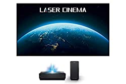 in budget affordable Hisense 100L10E 100inch 4K UHD Smart Laser Laser Projector, Screen and 2.1 Sound System (2019)