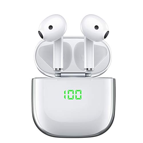 Wireless Earbuds-Bluetooth Headphones 5.0 with Type-C Wireless Charging Case, Hi-Fi Stereo Waterproof 30H Playtime Twins Bluetooth Earphones,Touch Control Earpods with Microphone for Android Phone