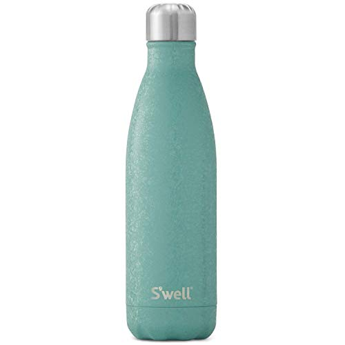 S'well Stainless Steel Water Bottle - 17 Fl Oz - Montana Blue