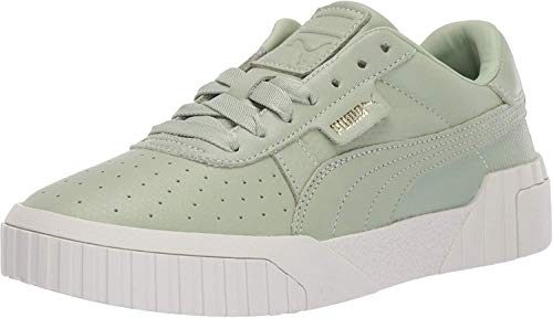 PUMA Women's Cali Sneaker Green-Smoke gr, 9 M US