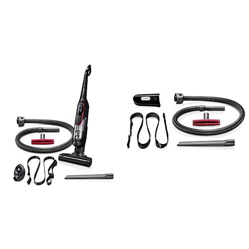 Bosch Hogar Athlet ProPower Aspirador Escoba sin Cable + Bosch Hogar Kit de Accesorios para aspiradora