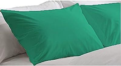 Comfort 6221142256580 Fashion Flap Pillowcase Set of 2 Emerald 92×50 cm